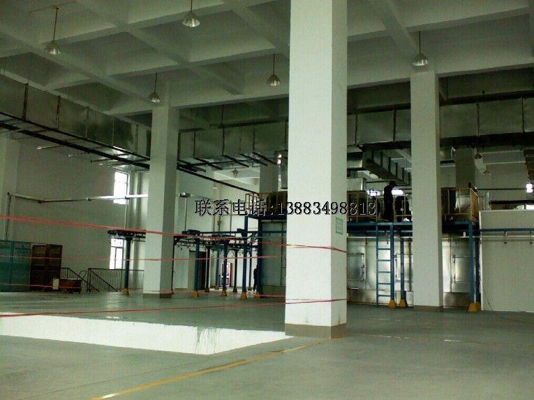 工业车间设备通风系统
