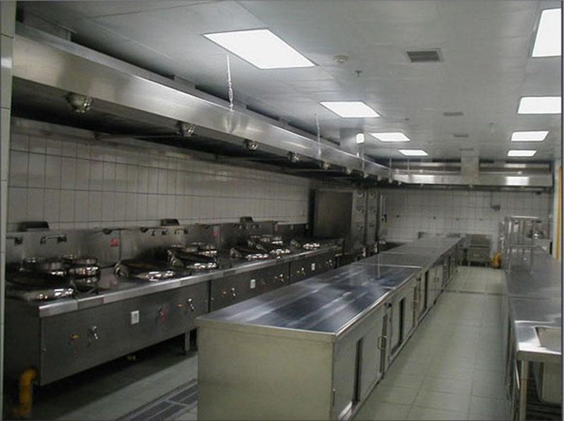 酒店、餐厅厨房通风排油烟净化处理系统