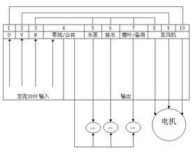 环保空调yabo88亚博体育app下载地址接线示意图