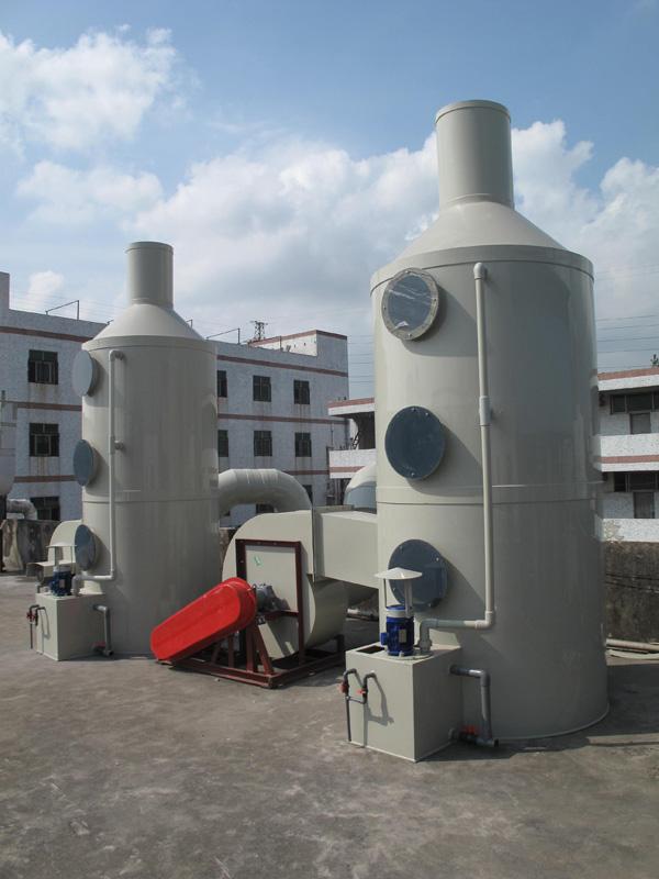 工业废气净化处理工程解决方案