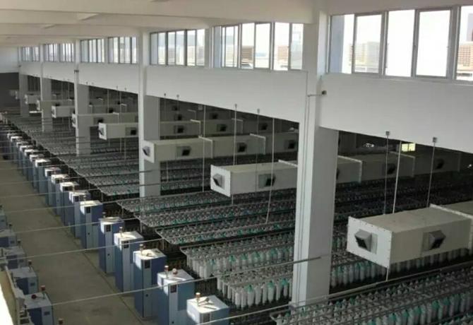 蒸发yabo88亚博体育app下载地址冷却技术在纺织厂的应用